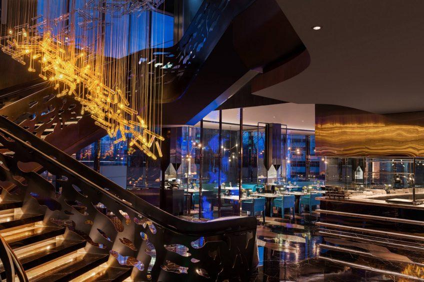 W Shanghai The Bund Luxury Hotel - Shanghai, China - Yen Restaurant