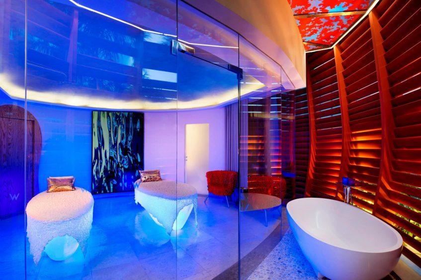W Singapore Sentosa Cove Luxury Hotel - Singapore - AWAY Spa Duo Delight Treatment Room