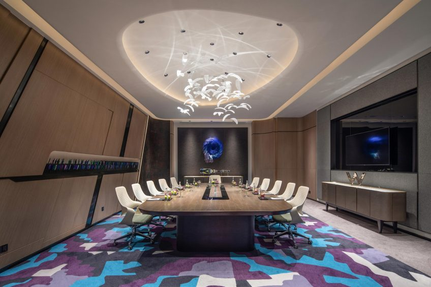 W Chengdu Luxury Hotel - Chengdu, China - Strategy Room