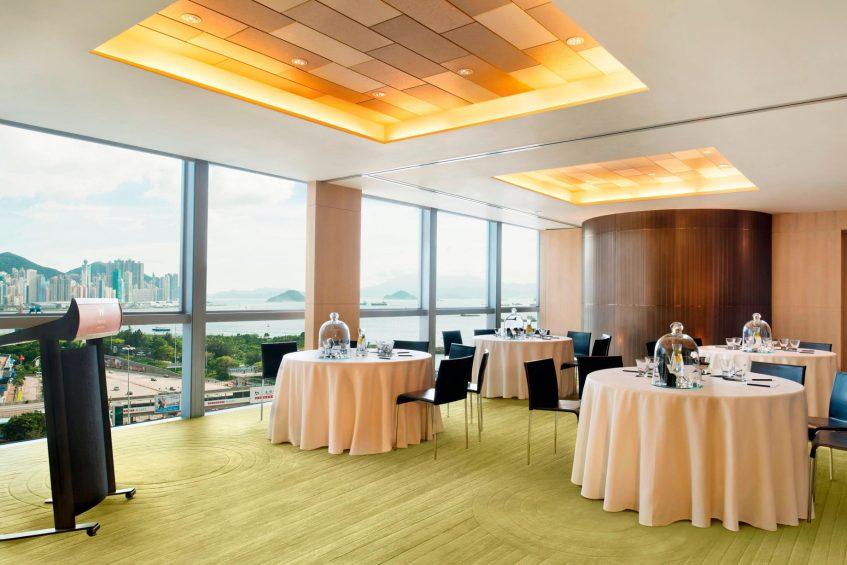W Hong Kong Luxury Hotel - Hong Kong - Function Room Round Tables