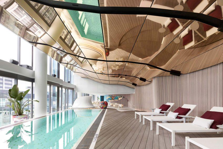 W Melbourne Luxury Hotel - Melbourne, Australia - WET Pool Decor