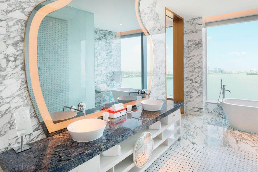 W Suzhou Luxury Hotel - Suzhou, China - WOW Suite Bathroom