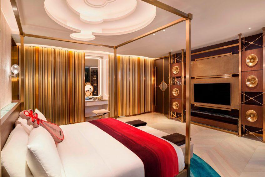 W Suzhou Luxury Hotel - Suzhou, China - WOW Suite King Bedroom