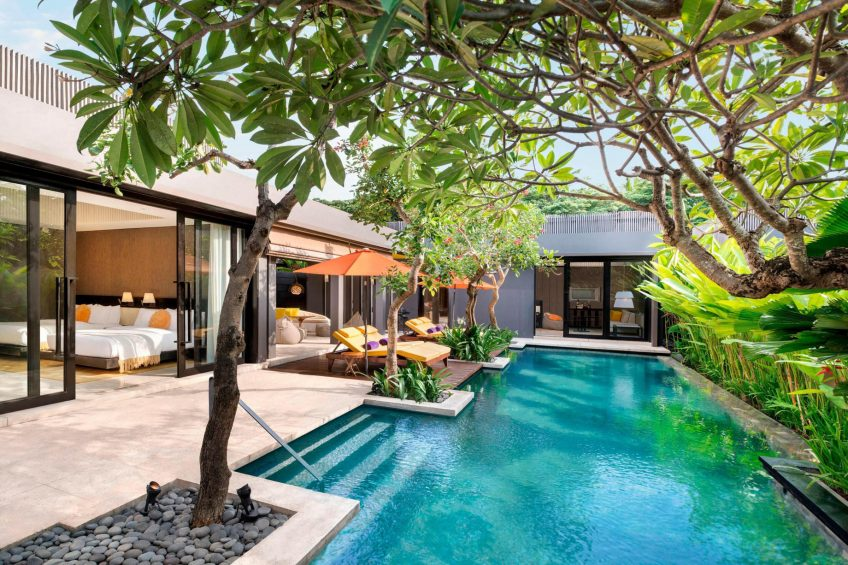 W Bali Seminyak Luxury Resort - Seminyak, Indonesia - Extreme WOW 3 Bedroom Villa Pool