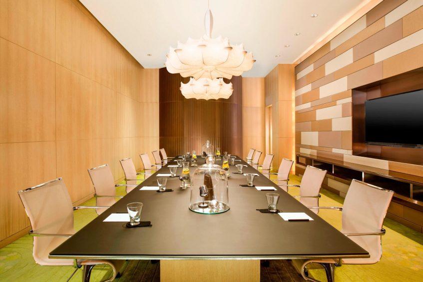 W Hong Kong Luxury Hotel - Hong Kong - Function Room Table