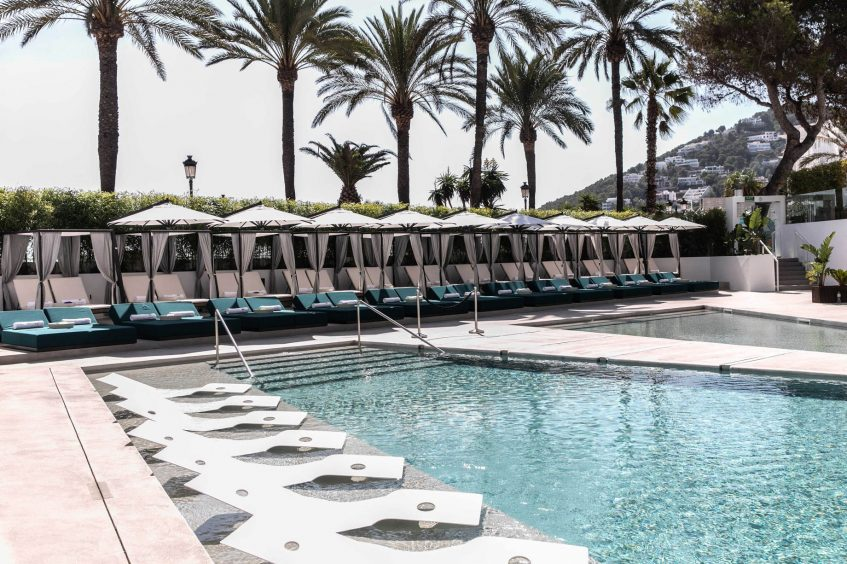 W Ibiza Luxury Hotel - Santa Eulalia del Rio, Spain - WET Deck Poolside