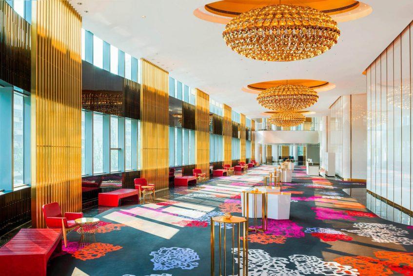 W Shanghai The Bund Luxury Hotel - Shanghai, China - Great Room Foyer