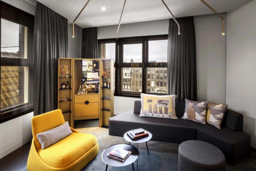 W Amsterdam Luxury Hotel - Amsterdam, Netherlands - Studio Bank Suite