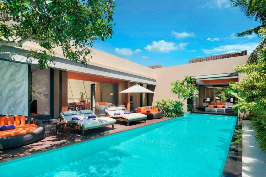 W Bali Seminyak Luxury Resort - Seminyak, Indonesia - Extreme WOW 3 Bedroom Villa Master Bedroom
