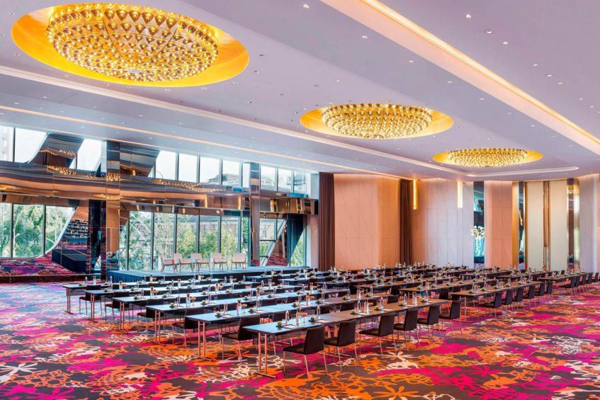 W Shanghai The Bund Luxury Hotel - Shanghai, China - Great Room Classroom Meeting