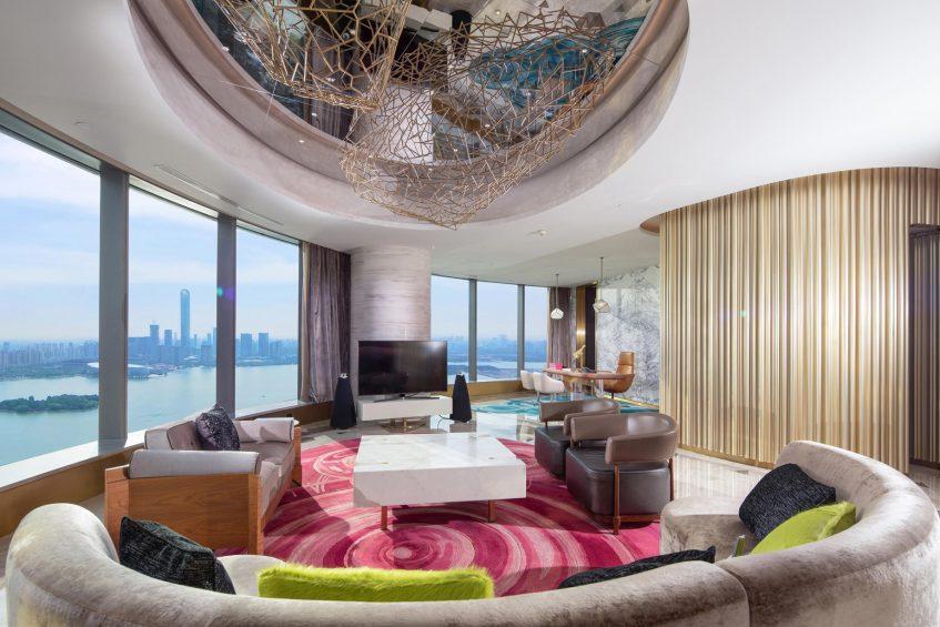 W Suzhou Luxury Hotel - Suzhou, China - WOW Suite View