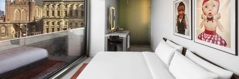 W Amsterdam Luxury Hotel - Amsterdam, Netherlands - Wonderful Exchange Bedroom