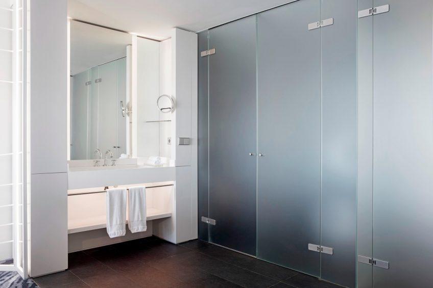 W Barcelona Luxury Hotel - Barcelona, Spain - Guest Bathroom