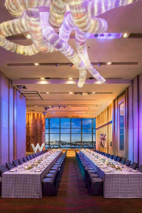 W Hong Kong Luxury Hotel - Hong Kong - Great Room Gala Dinner Setup