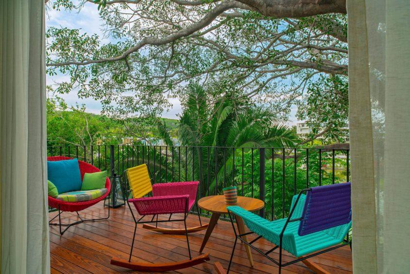 W Punta de Mita Luxury Resort - Punta De Mita, Mexico - Spectacular Jungle View Escape Terrace