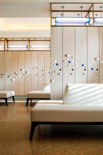 W Taipei Luxury Hotel - Taipei, Taiwan - FIT Changing Room