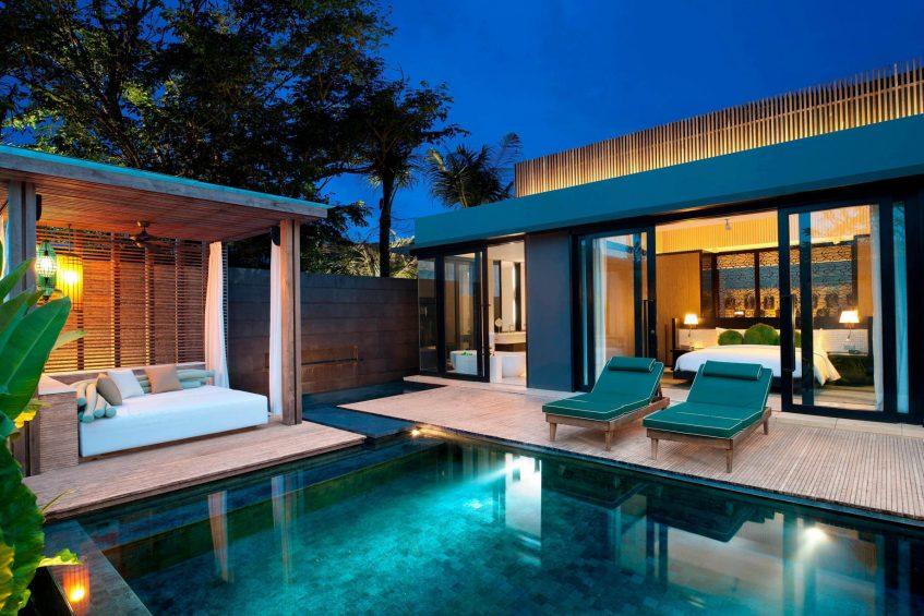 W Bali Seminyak Luxury Resort - Seminyak, Indonesia - Marvelous 1 Bedroom Pool Villa Deck