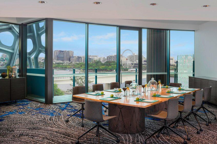 W Brisbane Luxury Hotel - Brisbane, Australia - Strategy Boardroom