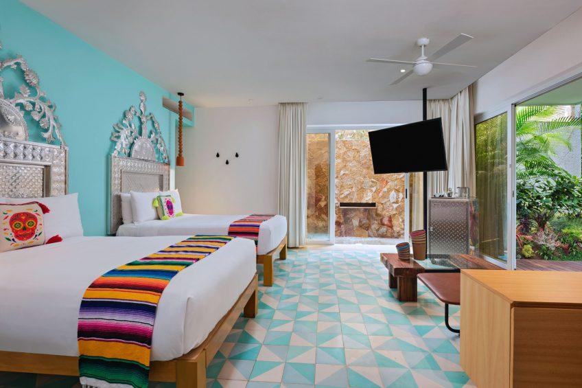 W Punta de Mita Luxury Resort - Punta De Mita, Mexico - Wonderful Jungle Escape Guest Room Double