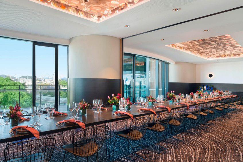 W Brisbane Luxury Hotel - Brisbane, Australia - Wedding Reception