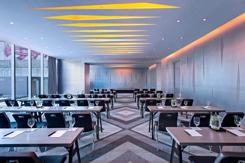 W Mexico City Luxury Hotel - Polanco, Mexico City, Mexico - Great Room Meeting Setup