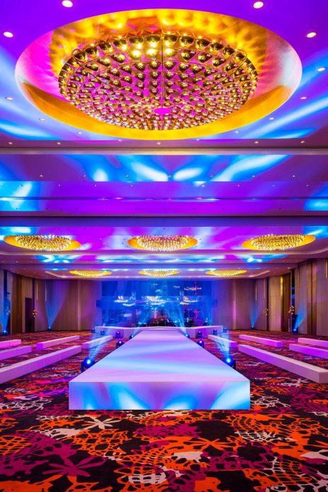 W Shanghai The Bund Luxury Hotel - Shanghai, China - Great Room Event Setup Decor