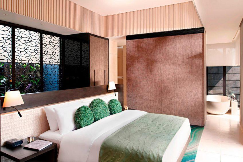 W Bali Seminyak Luxury Resort - Seminyak, Indonesia - Marvelous 1 Bedroom Pool Villa Bedroom