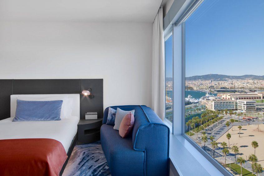 W Barcelona Luxury Hotel - Barcelona, Spain - Fabulous Guest Room View