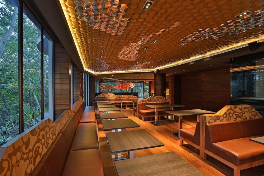 W Costa Rica Reserva Conchal Luxury Resort - Costa Rica - Latitud 10 Norte Restaurant Decor