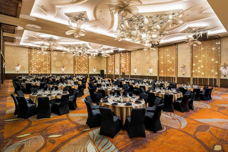 W Singapore Sentosa Cove Luxury Hotel - Singapore - Great Room Banquet Setting