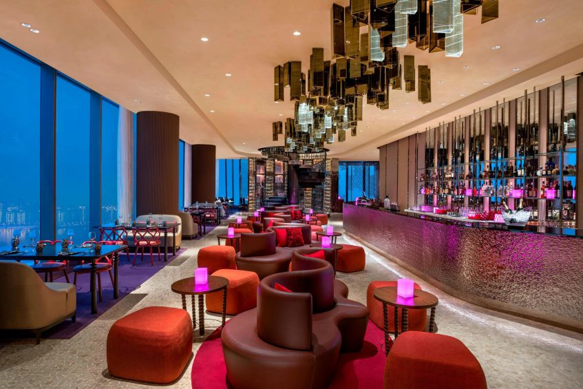 W Suzhou Luxury Hotel - Suzhou, China - TORO LOCO Main Dining Area Decor