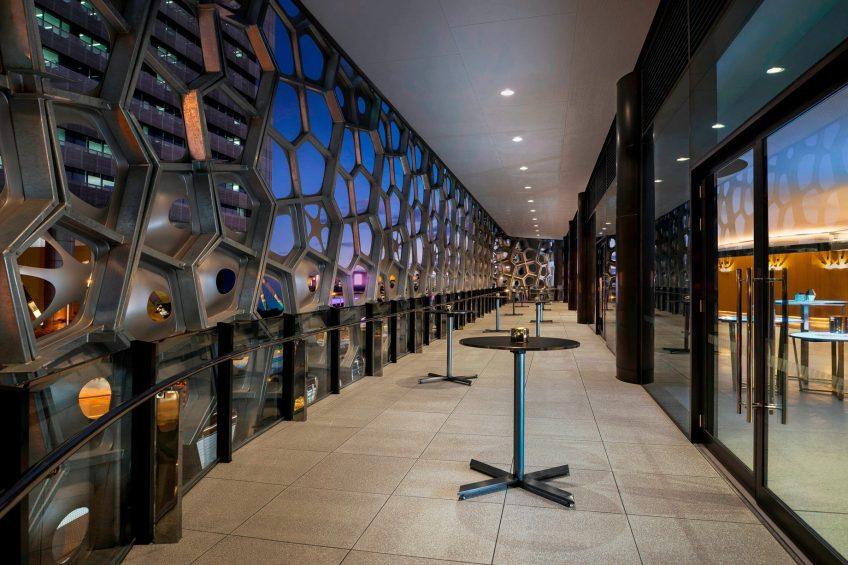 W Brisbane Luxury Hotel - Brisbane, Australia - Great Room Terrace By Night