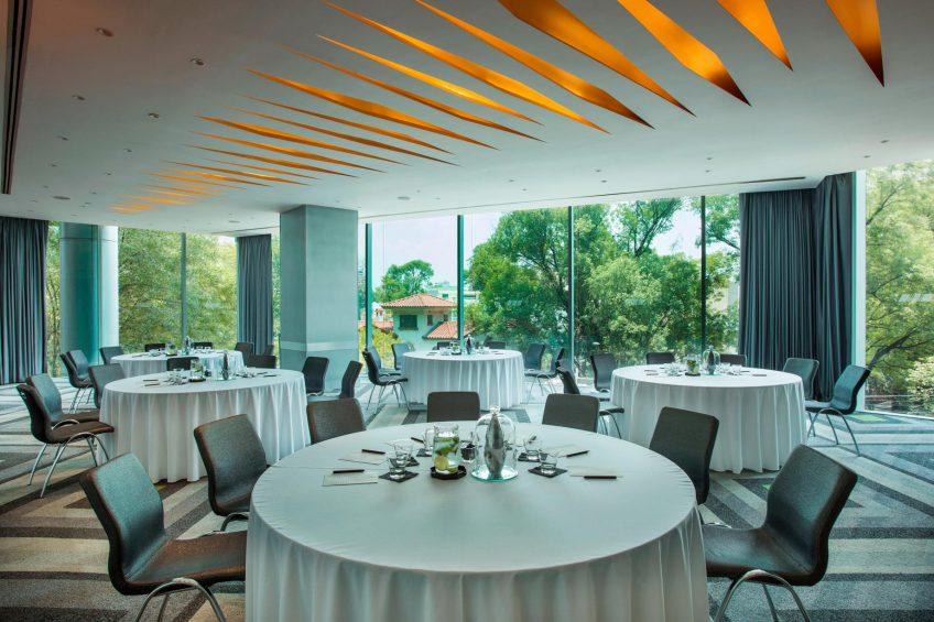 W Mexico City Luxury Hotel - Polanco, Mexico City, Mexico - Great Room Round Tables