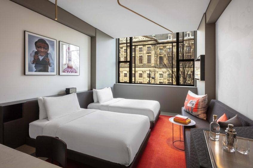 W Amsterdam Luxury Hotel - Amsterdam, Netherlands - Wonderful Exchange Guest Room Twin