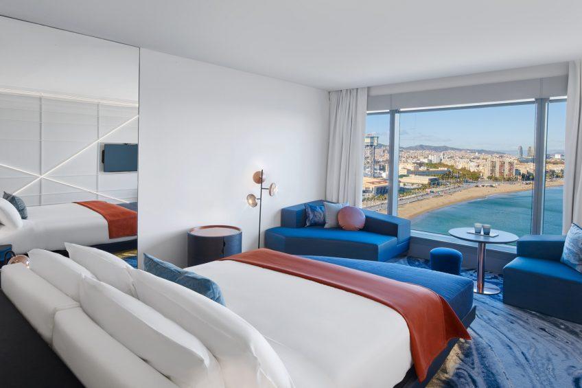 W Barcelona Luxury Hotel - Barcelona, Spain - Fabulous Sky Guest Room King