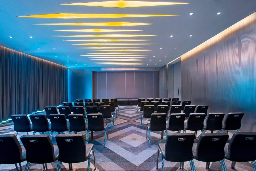 W Mexico City Luxury Hotel - Polanco, Mexico City, Mexico - Great Room Theater Setup