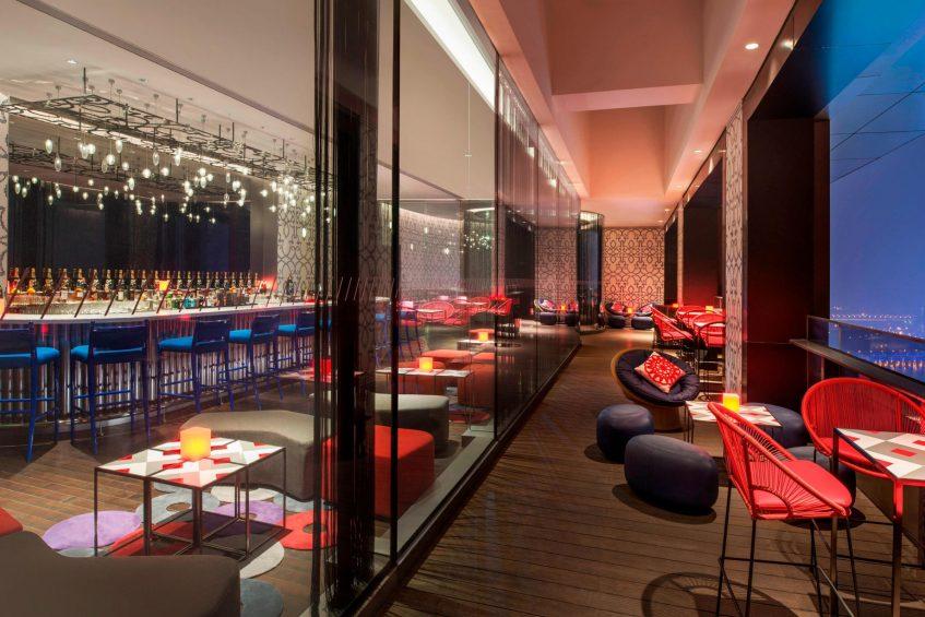 W Suzhou Luxury Hotel - Suzhou, China - TORO LOCO Terrace