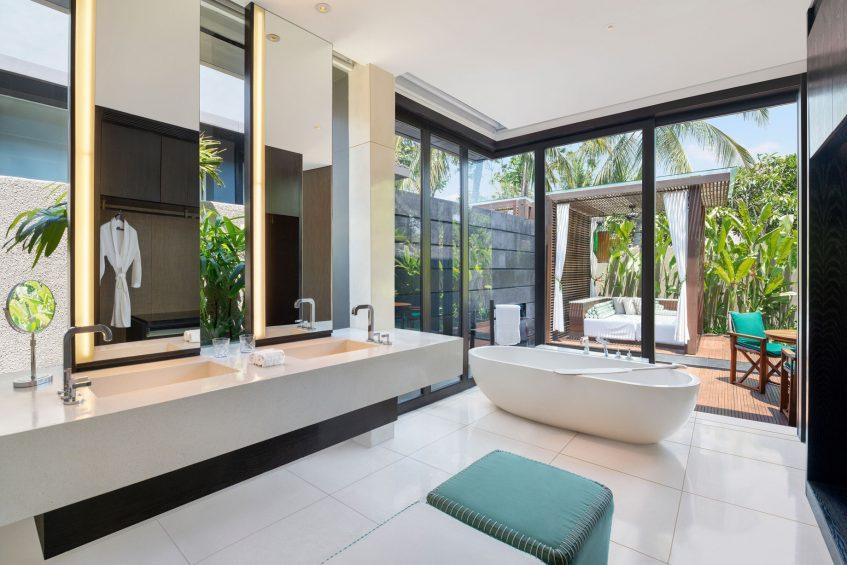 W Bali Seminyak Luxury Resort - Seminyak, Indonesia - Marvelous One Bedroom Pool Villa Bathroom