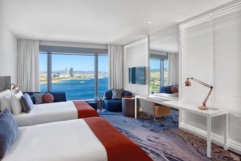 W Barcelona Luxury Hotel - Barcelona, Spain - Fabulous Sky Guest Room Twin