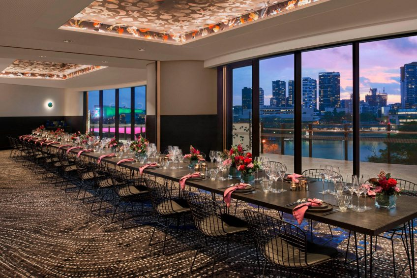 W Brisbane Luxury Hotel - Brisbane, Australia - Wedding Reception Night