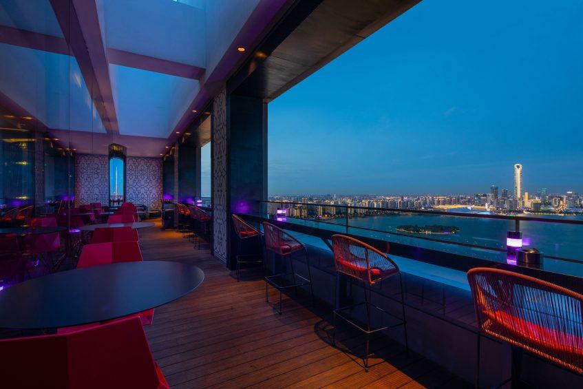 W Suzhou Luxury Hotel - Suzhou, China - TORO LOCO Terrace Night View