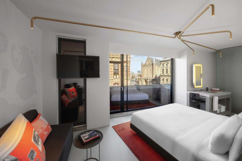 W Amsterdam Luxury Hotel - Amsterdam, Netherlands - Wonderful Exchange Guest Room View