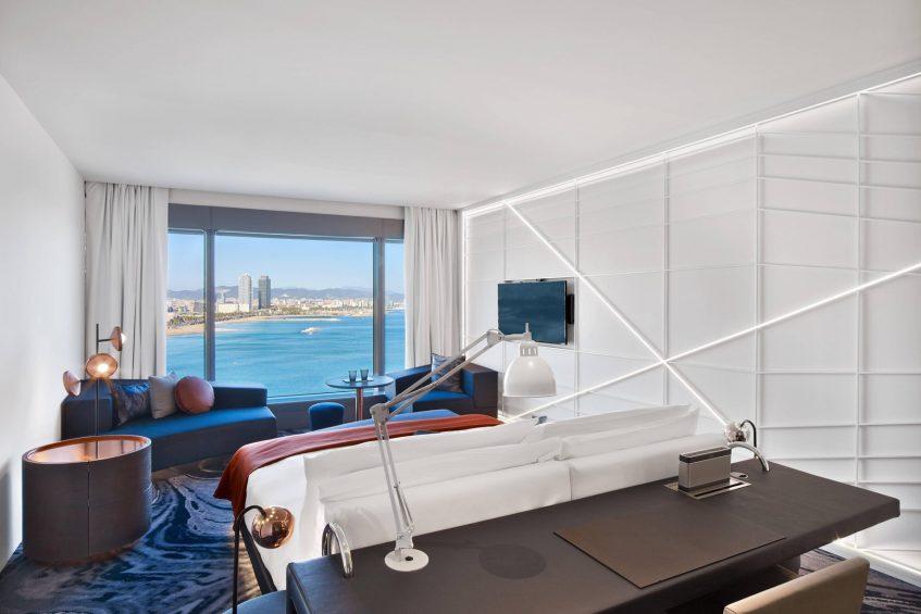 W Barcelona Luxury Hotel - Barcelona, Spain - Fabulous Sky Guest Room View