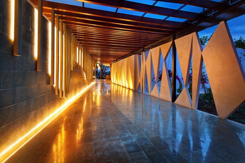 W Costa Rica Reserva Conchal Luxury Resort - Costa Rica - Marimba Entrance