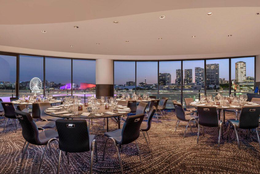 W Brisbane Luxury Hotel - Brisbane, Australia - Studio Meeting Room Tables