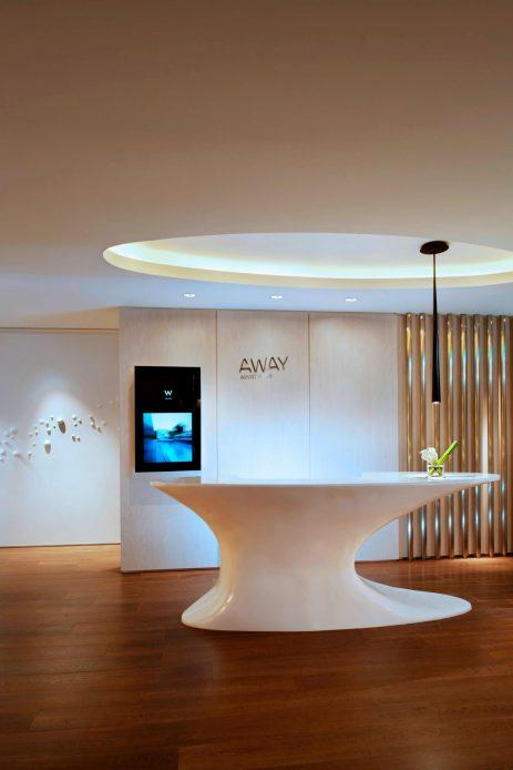 W Taipei Luxury Hotel - Taipei, Taiwan - AWAY Spa Reception