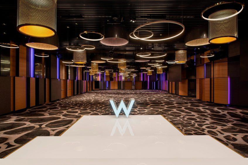 W Brisbane Luxury Hotel - Brisbane, Australia - Great Room Stage Setup
