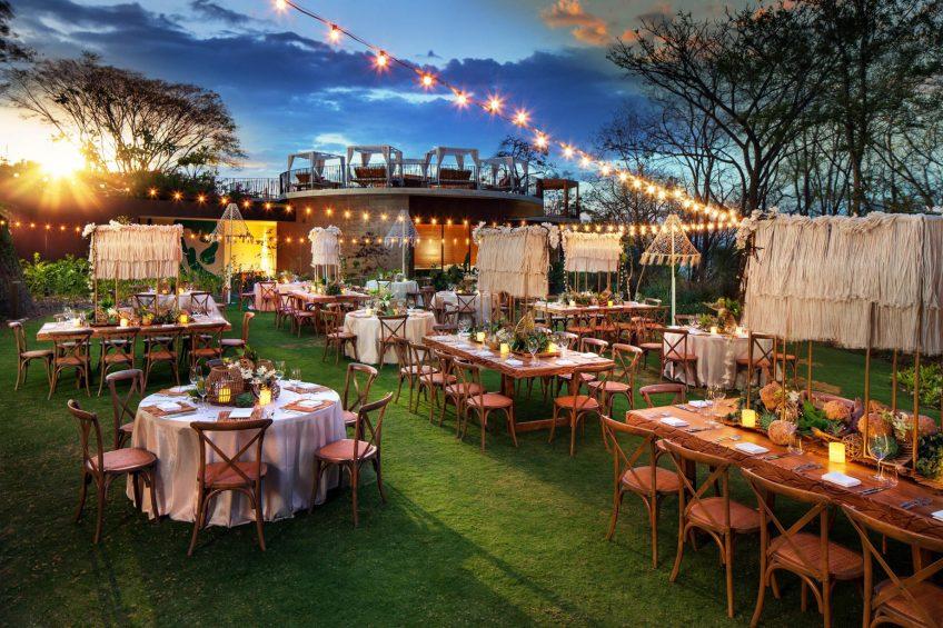 W Costa Rica Reserva Conchal Luxury Resort - Costa Rica - The Lawn Events