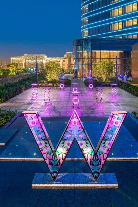 W Suzhou Luxury Hotel - Suzhou, China - Out On 4