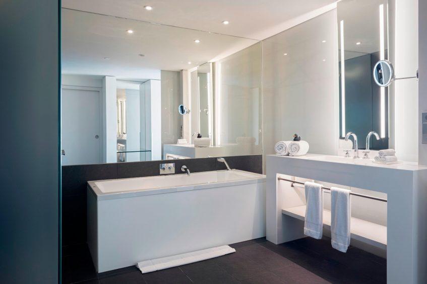 W Barcelona Luxury Hotel - Barcelona, Spain - Studio Suite Bathroom